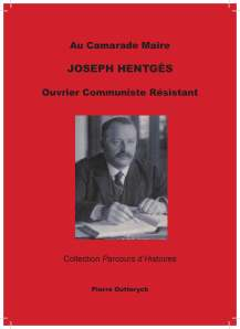 JOSEPH HENTGES