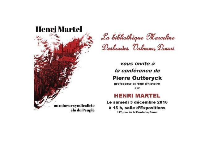 "Conférence ""Henri Martel"""